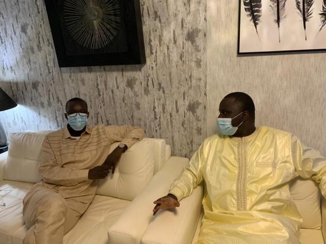 Condoléances: Le leader du Pastef, Ousmane Sonko chez Déthié Fall