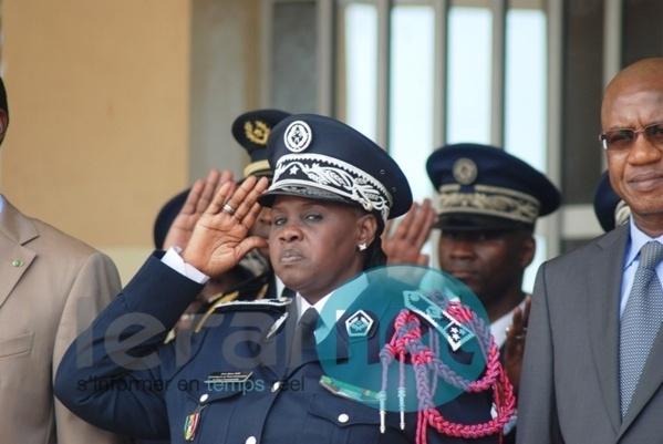 Première sortie officielle de la Dgpn : Anna Sémou Faye à l'écoute des policiers
