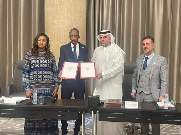 Projet 100 000 logements : une mission du Ministère de l'urbanisme, du logement  et de l'hygiène publique était à Abu Dhabi