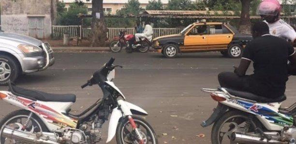 Les jakarata interdites de circulation à Dakar