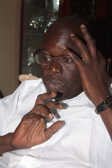 """Me Djibril War: """"Je n'apprécie pas la sortie de Nafissatou Cissé qui a fait allusion à l'hôtel Saint James, en s'attaquant à la respectable Léna Sène"""""""
