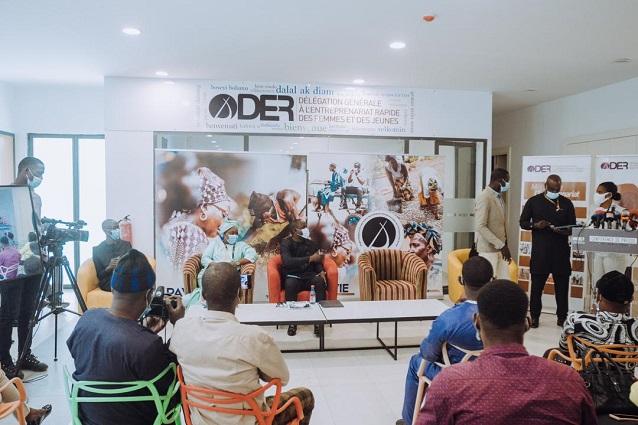 Entreprenariat des jeunes : La Der/Fj casque 500 millions FCFA pour  269 porteurs de projets