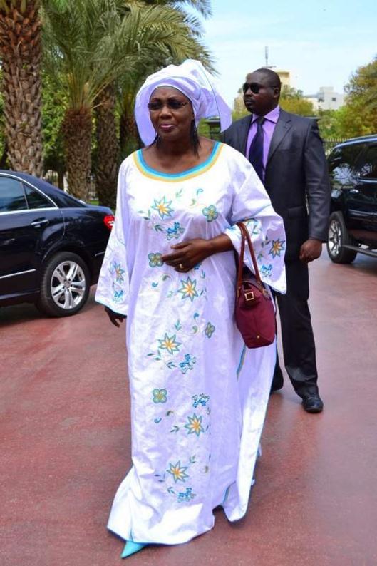 La journaliste Sara Cissé coépouse d'Aminata Tall