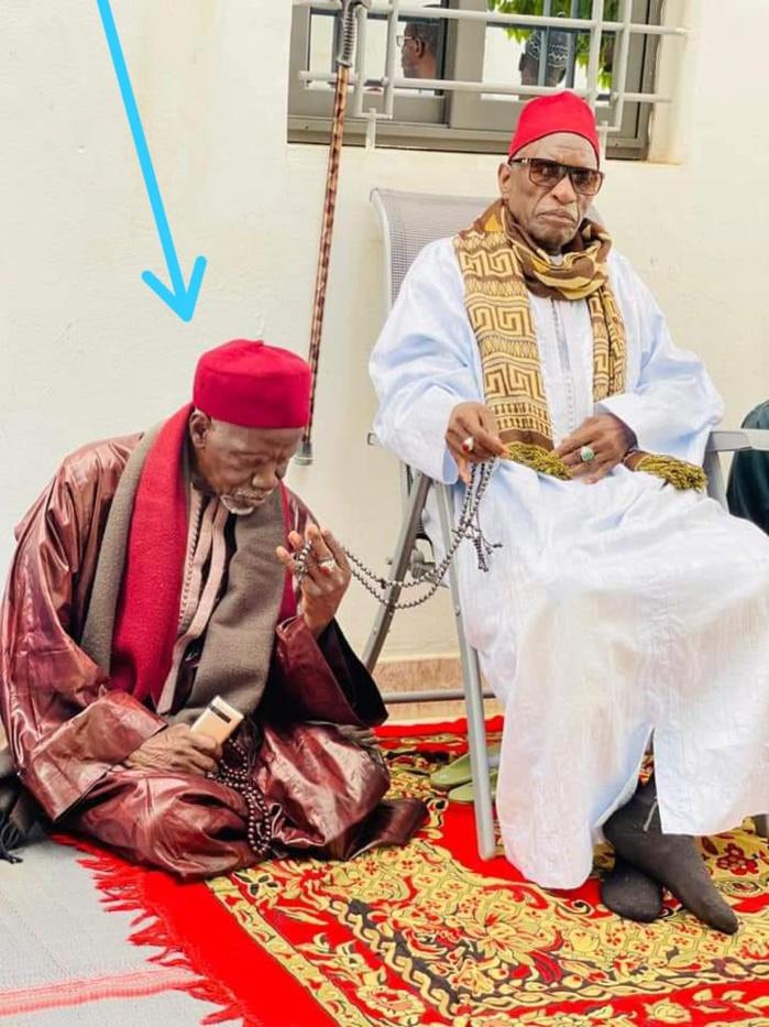 En image: Le nouveau Khalife général de Thiénaba, Serigne Assane Seck