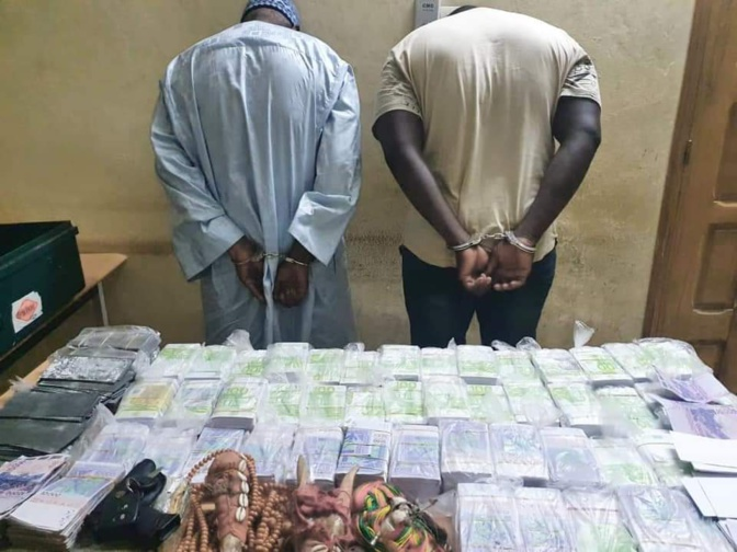 Gendarmerie nationale: De juillet à août 2021, près de 700.000.000 en fausses monnaies saisis