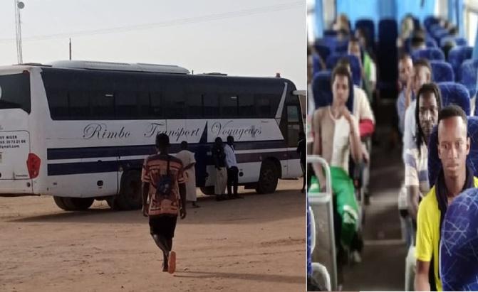 Début du rapatriement des 47 Sénégalais bloqués à Agadez : HSF pour un respect de la dignité humaine