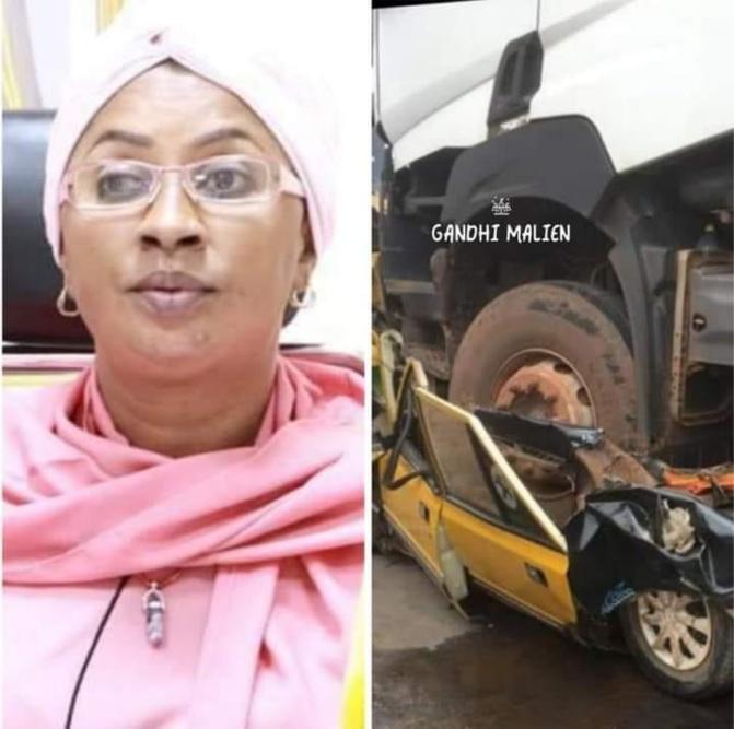 Le Ministre des Transports et des Infrastructures informe l'opinion publique qu'un camion malien a percuté à Kaolack, au Sénégal, un taxi
