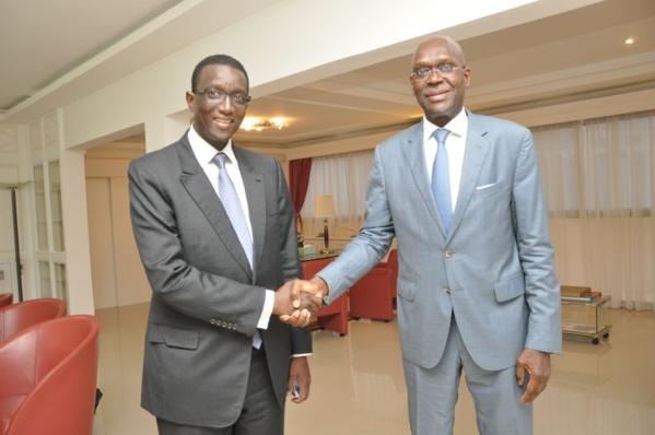 Passation de service au MEF entre Amadou Kane et Amadou Bâ