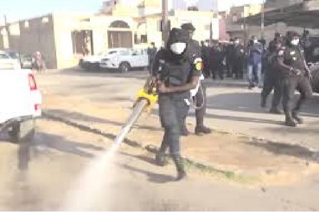Louga: Le Service d'Hygiène lance une opération de désinfection