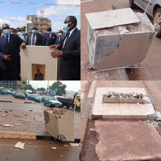 Guinée Bissau: Le panneau de l'avenue Macky Sall détruit par des...