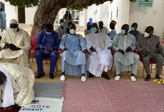 Condoléances et dons de matériels: Abdoulaye Diouf Sarr envoie une forte délégation à Thiénaba