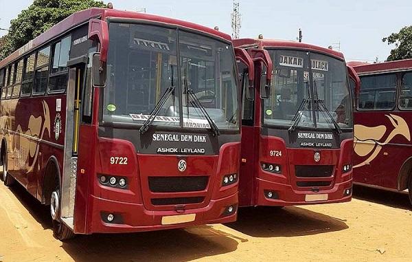 Transport public : Les cas de la Covid-19 en baisse, Sénégal Dem Dikk  reprend service