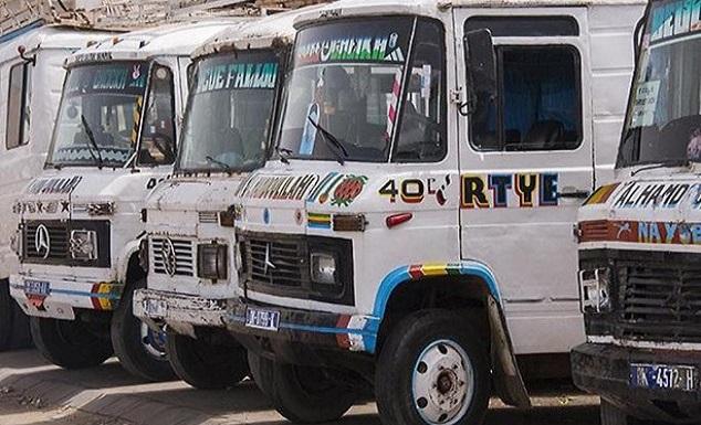 Transport de voyageurs: Les «Ndiaga Ndiaye» retirés de la circulation avant la fin de l'année