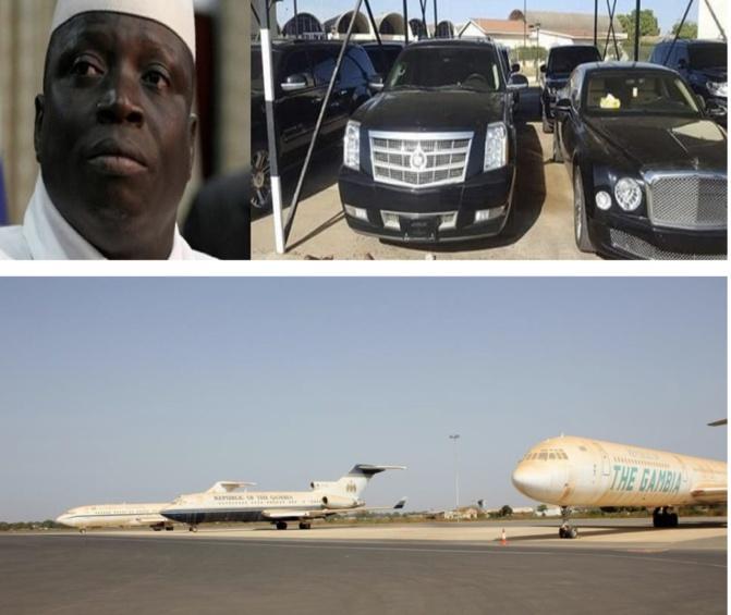 Gambie: La vente en catimini de trois avions de l'ex président Yahya Jammeh éclabousse Adama Barrow