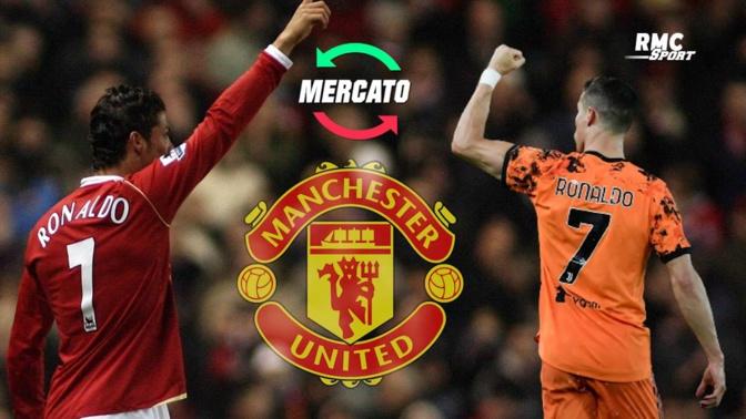 Mercato: 12 ans après, CR7 de retour à Manchester United, 25 millions d'euros par saison