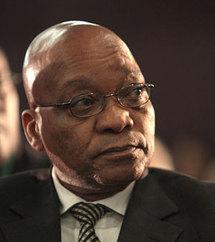 Jacob Zuma attendu à Dakar début octobre