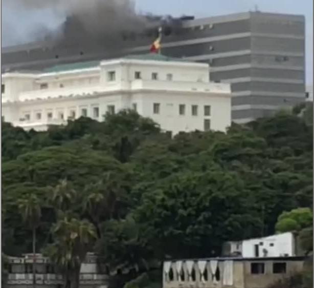 Incendie du Building administratif: Les dégâts estimés à des milliards de francs Cfa