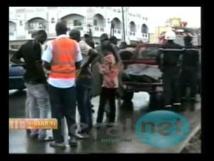 """Louga: Un convoi de la garde présidentielle percute un car """"Ndiaga Ndiaye"""""""