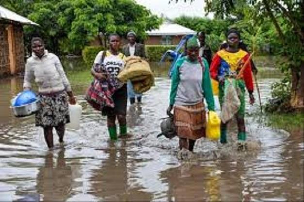 Mbour: La Direction de la gestion des inondations au secours des sinistrés