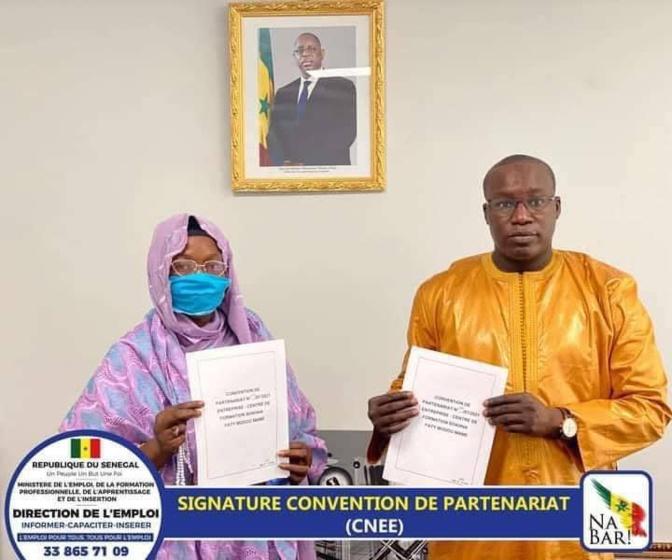 Signature de convention de partenariat: Un recrutement de 198 jeunes et femmes