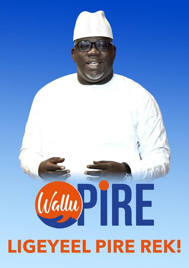 Pire investit Ndoye Bane: Déclaration du candidat à l'occasion de son entrée en politique