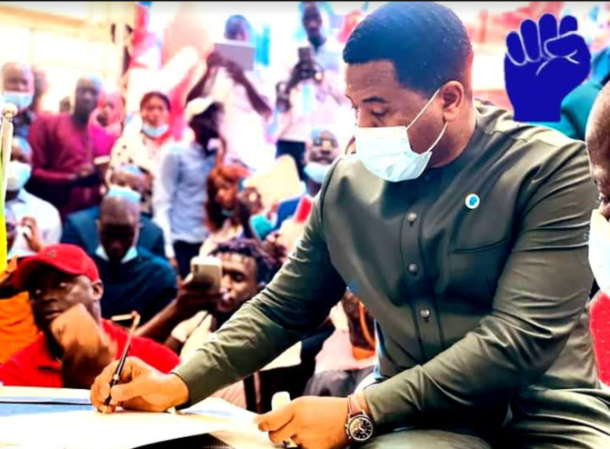 """Bougane Gueye Dany: « Le Nom et les Couleurs  Amoul consensus… Mais je vais signer..."""" (Document)"""
