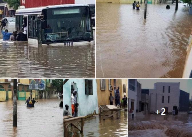 Inondations suite aux dernières pluies à Cambérène: Des jeunes en colère bloquent la circulation