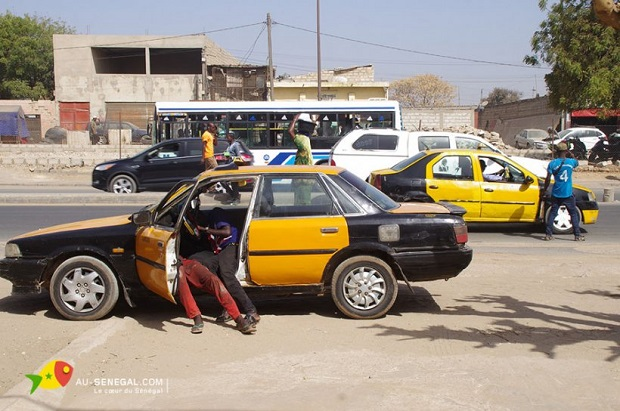Fatick : le désarroi des chauffeurs de taxi confrontés à de nombreuses tracasseries :