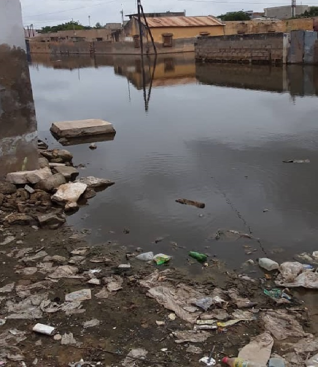 Inondations / Le quartier Thierno Kandji de Diourbel sous les eaux: HSF lance un appel à la solidarité internationale  !