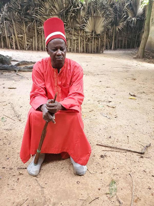 Paix en Casamance: Le roi d'oussouye sort du bois