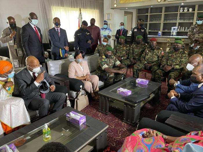 En images: La mission de haut niveau de la CEDEAO à Conakry