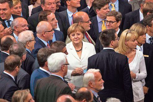 Allemagne: Angela Merkel en route vers un 3e mandat de chancelière