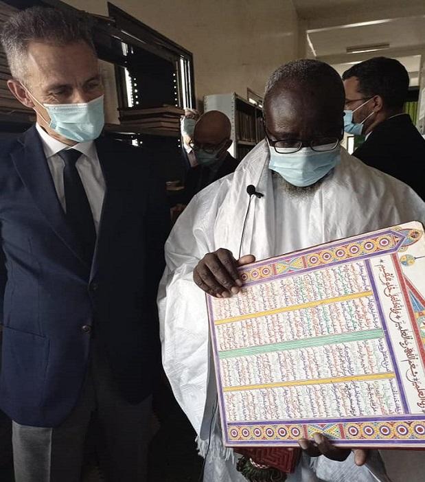 L'ambassadeur de la France à Touba : les images d'une visite impressionnante