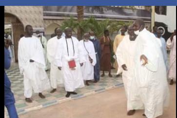 Revivez les temps forts de la visite du Khalife général des Mourides chez les Hizbut-Tarqiyyah