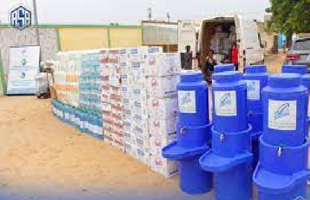Préparatifs du Magal 2021 :La Fondation du Port de Dakar chez Serigne Mountakha