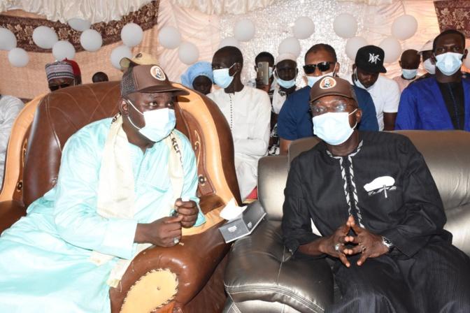 Sangalkam. Ousseynou Diallo rejoint le ministre Oumar Gueye pour une victoire de Bby au soir du 23 janvier 2022.