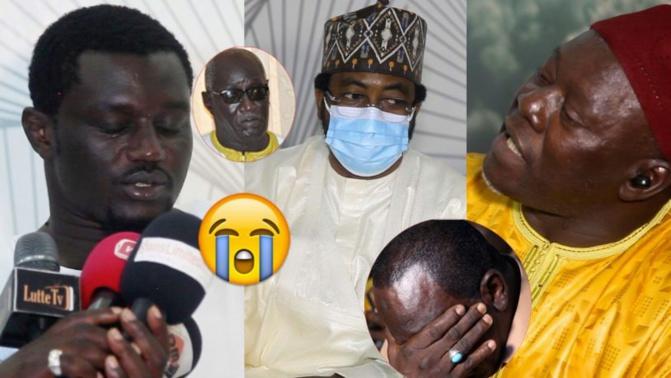 Video – Emouvant: Sheikh Alassane SÈNE présente ses condoléances et fait craquer BG2 devant Tapha Gueye