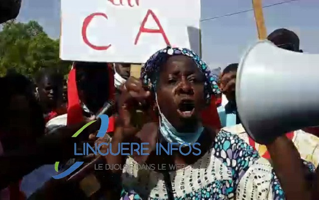 Linguère : Marche pour dénoncer les violences faites aux femmes