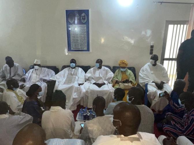 En images: L'arrivée de la Grande Coalition YAW à Touba