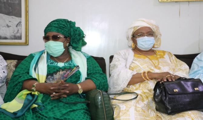 Magal 2021: Aminata Mbengue Ndiaye et une délégation du Hcct reçues à Touba