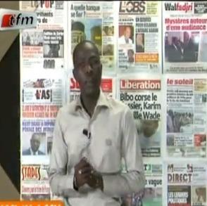 Revue de presse du lundi 30 Novembre 2012 (Tfm)