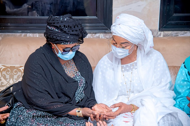Magal 2021: Sokhna Faty Thiaw Laye, fille de S. Abdoullahi Thiaw Laye, à Touba