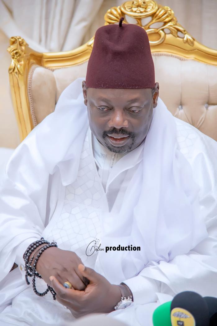 Magal 2021: Serigne Sidy Ahmed Sy Dabakh à Touba (Photos)