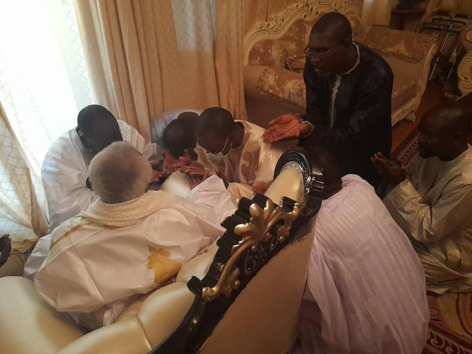 Magal 2021: L'homme d'affaires Cheikh Mbacké Thiam accompagne Ousmane Sonko
