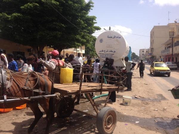 Pénurie d'eau dans la capitale  Touba au secours de Dakar