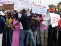 Inondation : Marche de protestation des populations de Boune à Keur Massar