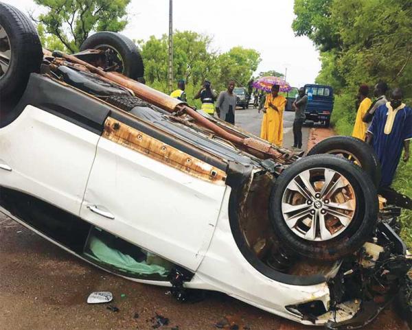 Accident à Gossas: 5 membres d'une même famille perdent la vie