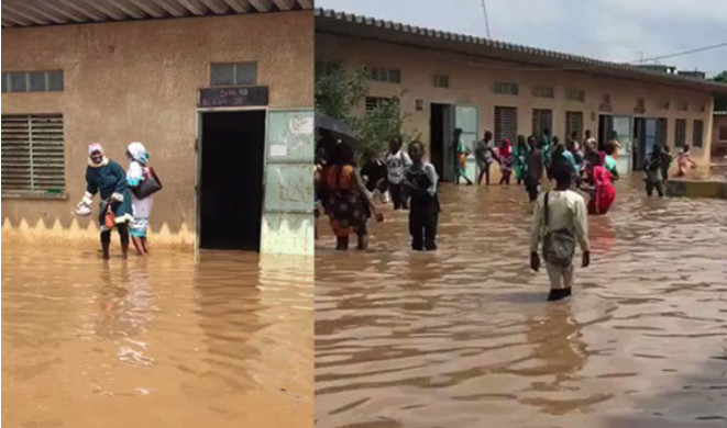 Ouverture des classes: 66 écoles sous les eaux à Dakar