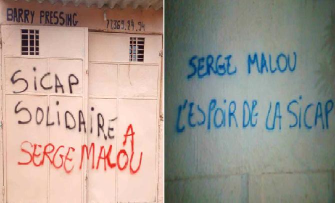 Des murs de la Sicap vandalisés: Des plaintes annoncées contre le candidat  de l'APR Serge Malou