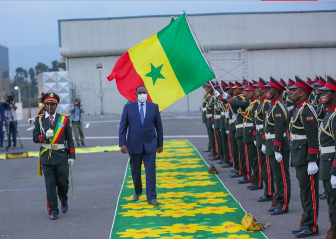 PHOTOS / Ethiopie: L'accueil réservé au Président Macky Sall en images